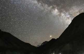 Bivouac sous les étoiles, au cœur du Zanskar