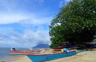Bunaken bateaux pecheurs