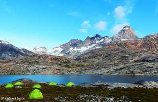 Camp de base au Groenland