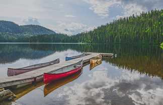 Canoë au Canada