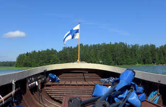 Canoe en Finlande
