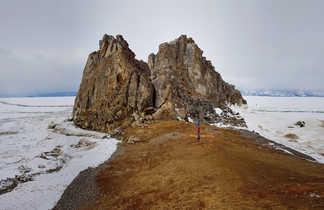 Cap Burkan, lac baikal en Russie
