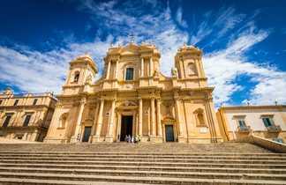 Cathédrale baroque Noto