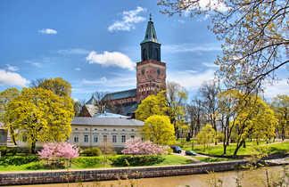 Cathédrale de Turku en Finlande