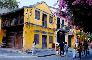Centre ville de Hoi An au Vietnam