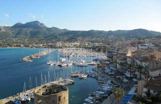 Citadelle et port de Calvi en Balagne