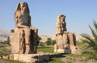Colosses de Memnon à Louxor