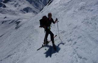 Conversion en ski de randonnée dans les Alpes