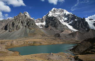 montagne lac