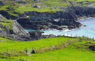 Côte Irlande, île d'Emeraude