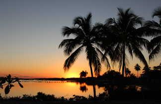Coucher de soleil à Cuba