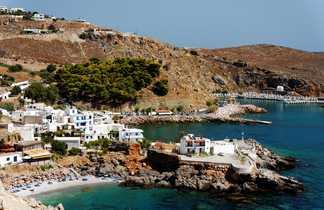 Crète, crique de la côte sud