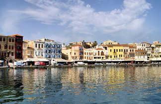 Crète port