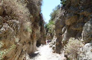 Crète, randonnée dans la gorge d'Imbros