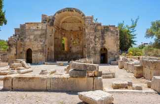 Crete, site archéologique de Gortyne