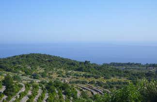 Croatie, l'intérieur de l'île de Hvar