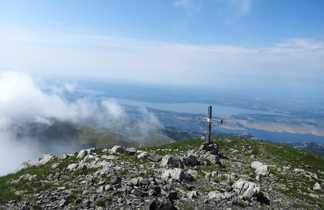 Croatie massif de Paklenica Sveto brdo