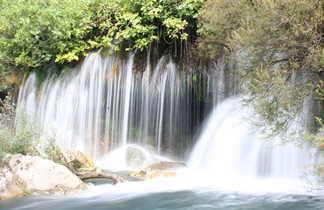 Croatie Parc National de Krka, chute d'eau