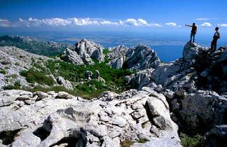 Croatie, randonnée dans le parc de Paklenica