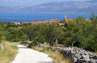 Croatie, randonnée sur l'île de Hvar vers Velo Grablje