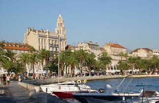 Croatie, sur le port de Split