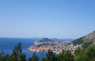 Croatie, vue sur Dubrovnik