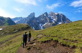 Croda del lago dans les Dolomites