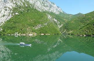 Croisière sur le Lac de Koman, Albanie