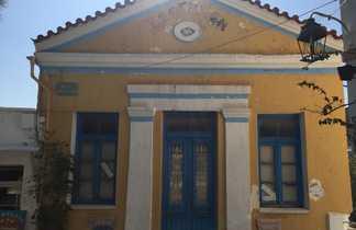 Cyclades, paros, village de Lefkes