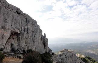 Dans le massif du Garlaban, pays de Pagnol, Provence