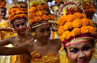 Danse traditionnelle en Indonésie