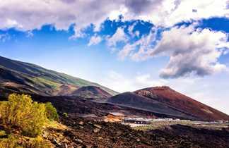 Départ pour l'ascension de l'Etna