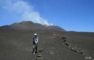 Descente de l'Etna