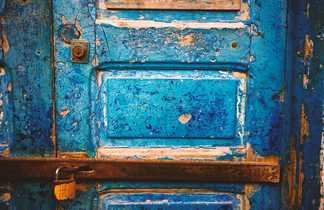 Détail d'une porte marocaine