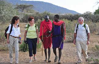 Echange avec les Masaï