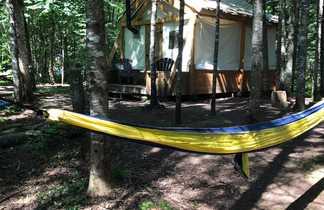 Eco-tente du Centre d'aventure de Mattawin