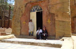 Eglise de Kirkos dans le Massif du Tigré
