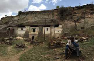 Eglise de Medianalem Adi Kesho dans la région du Tigré en Ethiopie