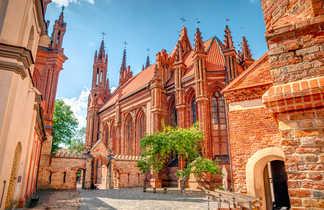 Eglise Sainte Anne, Vilnius, Lituanie