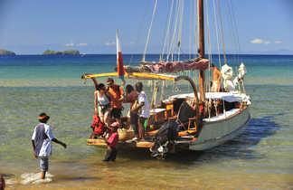 En route pour les nosys, les îles du Nord de Mada !