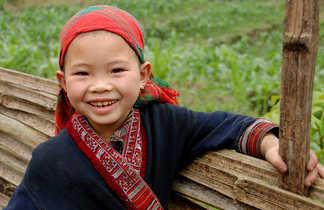 Enfant d'une ethnie du Song Chay
