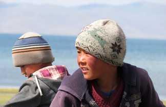 Enfants kirghizie