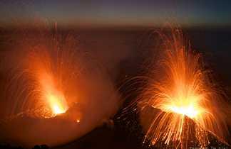 Éruption Stromboli
