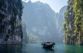 Excursion en bateau au parc national de Khao Sok