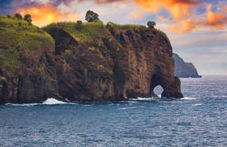Falaise à San Miguel, Açores