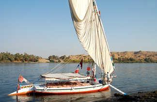 Felouque, Egypte