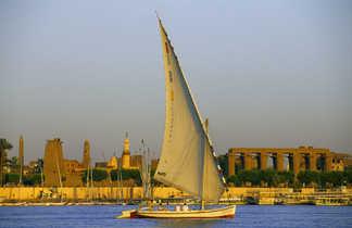Felouque su le Nil à Louxor