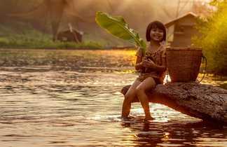 Fillette thaïlandaise