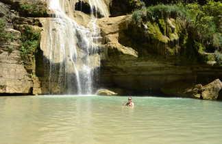 Fleuve Tsiribinha et baignade