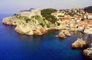 fort Lovrijenac, Dubrovnik, Croatie